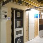 Tableau électrique et Hublots de portes de garage