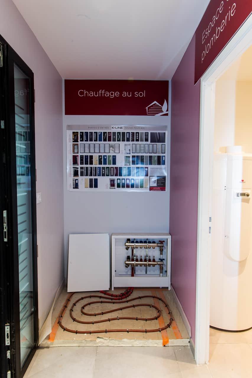 Savoir faire gueudry constructions - Plancher chauffant garage ...