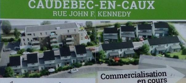 Rue John F Kennedy - CAUDEBEC EN CAUX