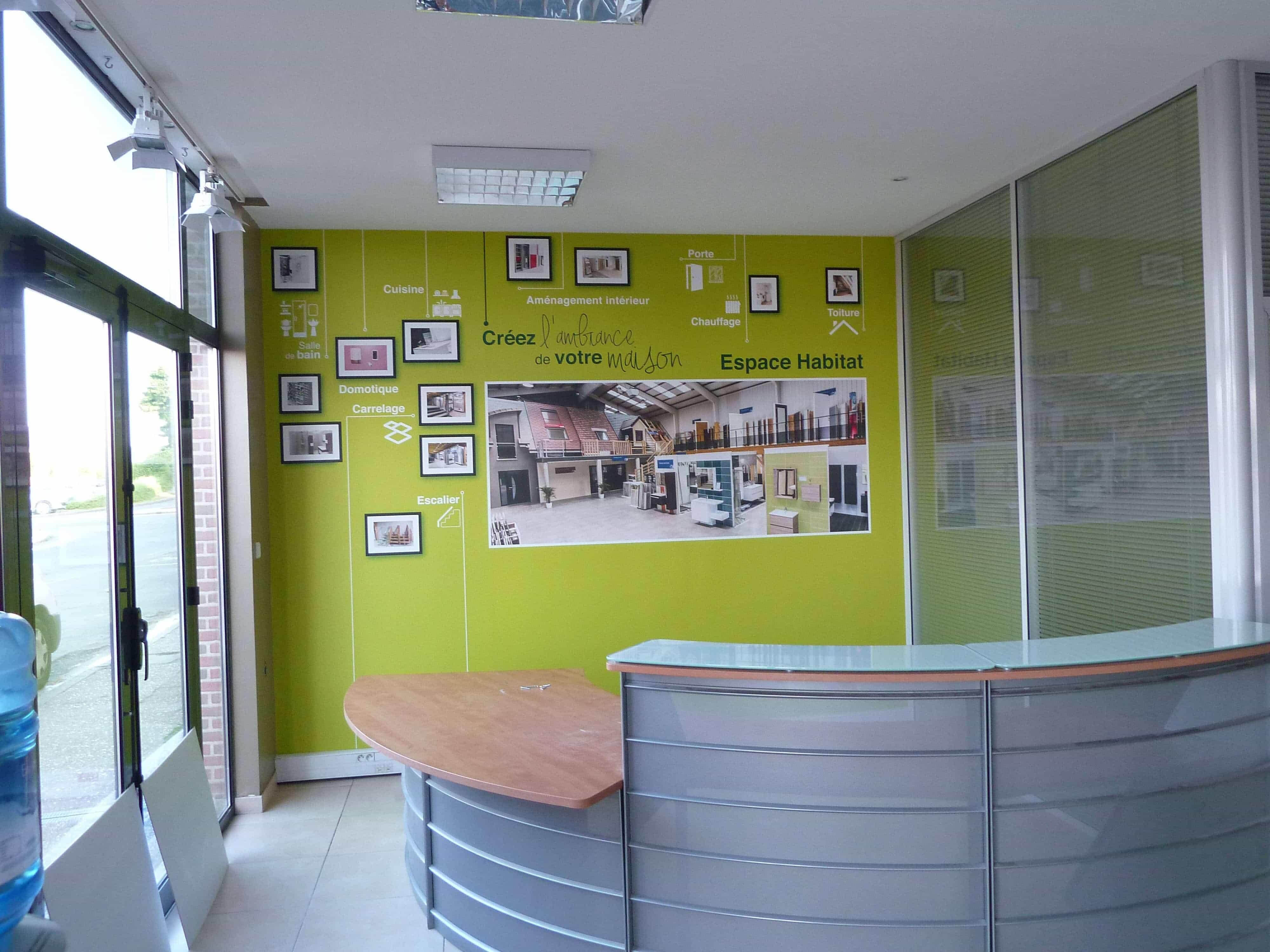 ouverture d 39 une agence honfleur gueudry constructions. Black Bedroom Furniture Sets. Home Design Ideas