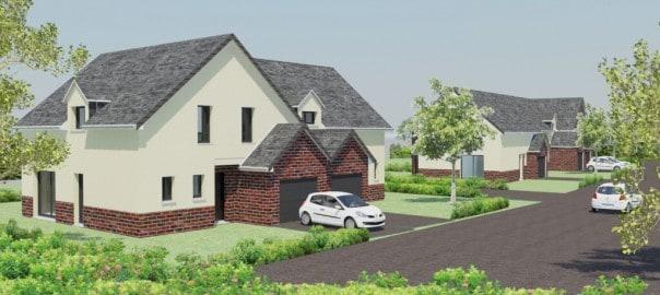 constructeur maison contemporaine maison moderne normandie gueudry. Black Bedroom Furniture Sets. Home Design Ideas