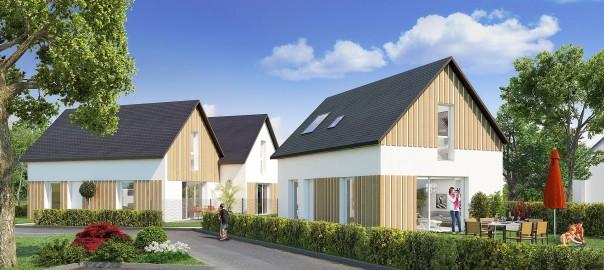 Maisons neuves - Résidence de la Grange - YERVILLE 1
